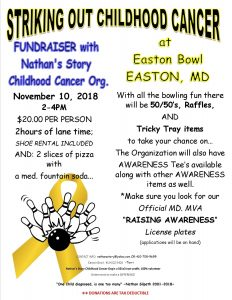 STRIKING OUT CHILDHOOD CANCER